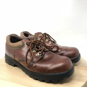 Timberland Men's Sz 10M Brown Leather Oxfords CG4